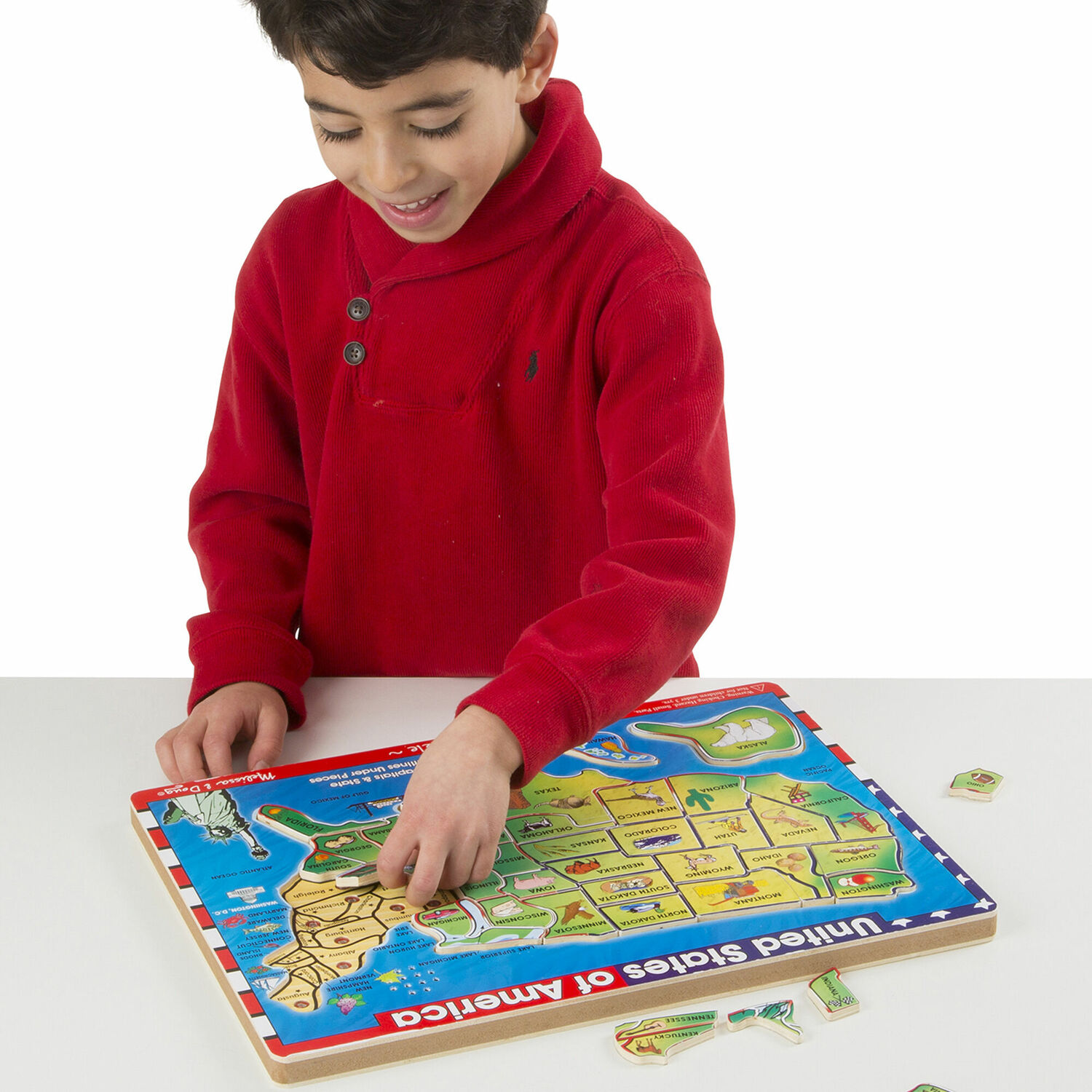 Demo Site Us Map Sound Puzzle Out Of This World Toys - Puzzle-us-map