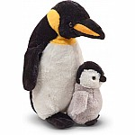 Webber Penguin With Baby