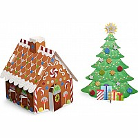 Christmas Tree & Gingerbread House