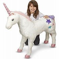 Unicorn Jumbo Plush