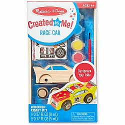WOODEN CRAFT KIT RACE CAR