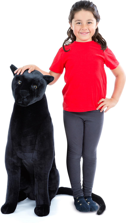 Black Jaguar Plush Fun Stuff Toys