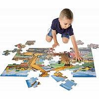 48 pc Building Site Floor Puzzle -