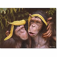 60 pc Cheeky Chimps Cardboard Jigsaw Puzzle