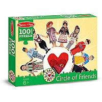 0100 Piece Puzzle Circle of Friends