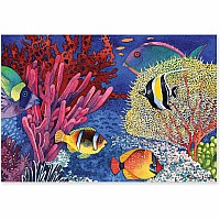 100 pc Coral Reef Cardboard Jigsaw