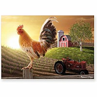 Farm Sunrise 100 pc puzzle