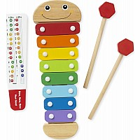 Wooden Caterpillar Xylophone