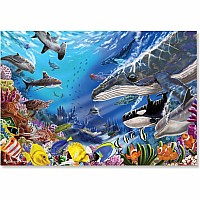 200 pc Living Ocean Cardboard Jigsaw