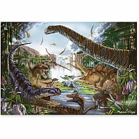200 pc Prehistoric Waterfall Cardboard Jigsaw