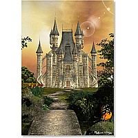 200 pc Towering Castle Cardboard Jigsaw