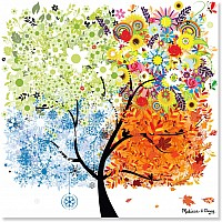 0200 pc Seasons Tree Cardboard Jigsaw