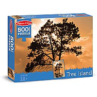 500 pc Tree Island Cardboard Jigsaw Puzzle