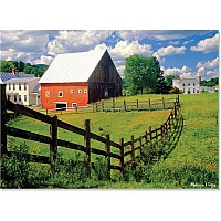 500 pc Peaceful Farm Cardboard Jigsaw Puzzle