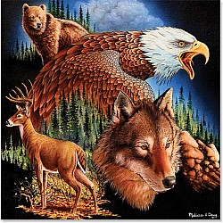 Kings of the Mountain 500 piece jigsaw puzzle melissa and doug