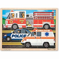 0024 Piece Wooden Jigsaw Puzzle To The Rescue!