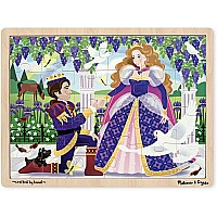 24 pc Prince and Princess Jigsaw Puzzle