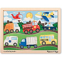 12 pcs On the Road Jigsaw Puzzle