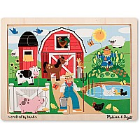 12 pcs Farm Fun Jigsaw Puzzle