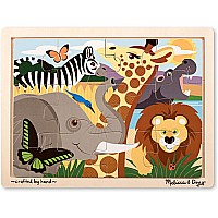 12 pc Safari Jigsaw Puzzle