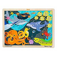 0024 Piece Wooden Jigsaw Puzzle Under the Sea