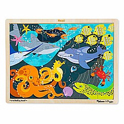 24 pc Under the Sea Puzzle