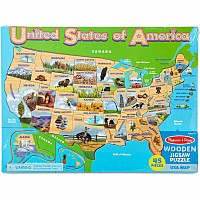 U.S.A. Map Jigsaw