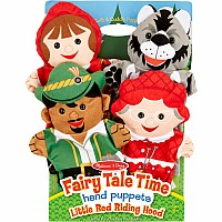 Little Red Riding Hood-Fairy Tale Time Hand Puppets