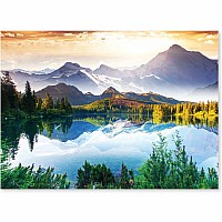 1,500 pc Mountain Lake Cardboard Jigsaw Puzzle