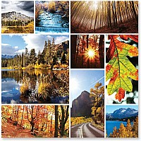 Autumn Snapshots Jigsaw Puzzle 1000 pc