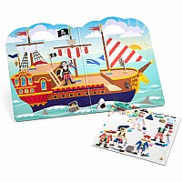 Puffy Sticker Play Set - Pirate