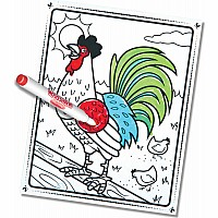 Farm Animals - Magicolor Colouring Pad