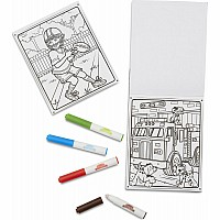 Adventure - Mess-Free Colouring Pad