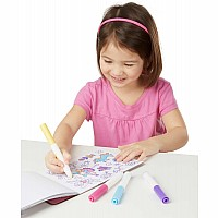Magicolor Color-Your-Own Sticker Book - Pink