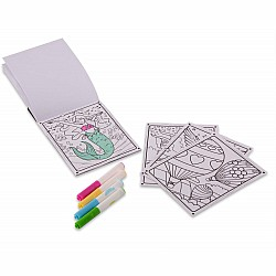 Coloring Pad - Friends & Fun