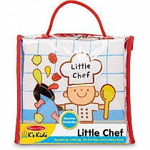 Melissa & Doug Soft Activity Book - Little Chef