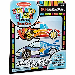 Melissa and Doug Stained Glass Race Cars Ornaments