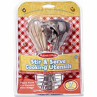 M&D Let's Play House! Stir & Serve Cooking Utinsels