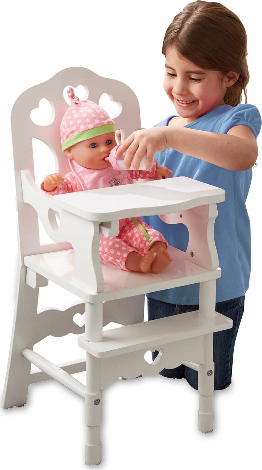 Wooden Doll High Chair Kool Amp Child