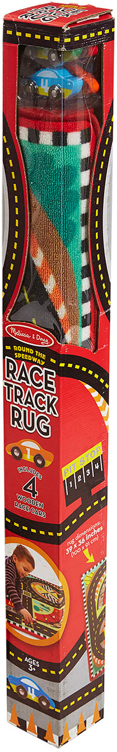 Rug Round The Race Track