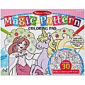 Magic-Pattern Marker Kids' Coloring Pad - Princesses, Ponies, Parties, and More