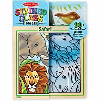 Peel & Press Stained Glass - Jungle