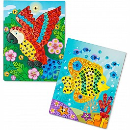 On the Go Sequin Scenes Activity Set - Animals