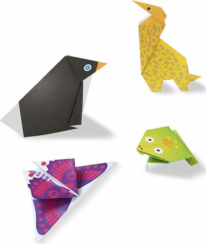onthego crafts origami activity set animals kool