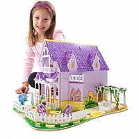 Pretty Purple Dollhouse