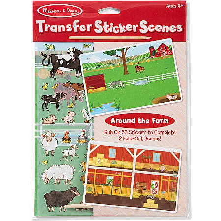 All Transfer Sticker Set - Around the Farm