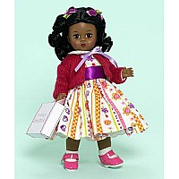 Running Away To Grandma's African American Doll