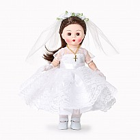 First Communion Blessings - Medium Skin/Brown Eyes/Brunette Hair