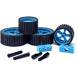 MeeperBOT 2.0 Wheel/Axle 4Pk. Meeper Blue