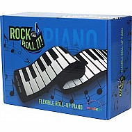 Rock And Roll It - Piano Flexible, Completely Portable, 49 standard Keys, battery OR USB powered